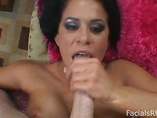 Sexy Savannah Stern Is Hungry For Your Cock And Devors Your Huge Cock