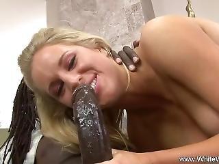 Big Tit Blonde Takes Bbc Anal