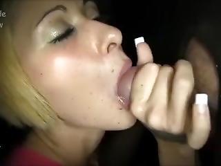 blond, blowjob, sammensætning, sædshot, fetish, fisting, gloryhole