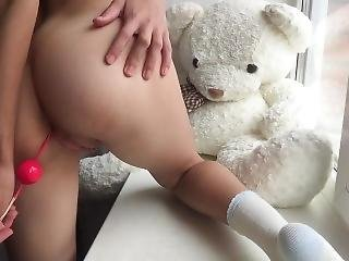 Whore Fucking Anal Toys And Fingering Pussy