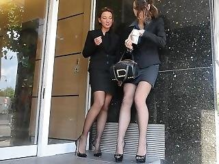 Secretary Stockings Pt. 2