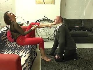 Preview: Foot Gagged And Snapped