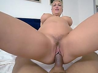 Chubby Horny Milf Stepmom Waits For New Round With Him