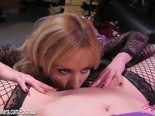 Vampire Feeds On Bound Girl