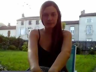 Amateur, Garden, Parents, Public, Pussy, School, Skirt, Teen, Upskirt, Webcam