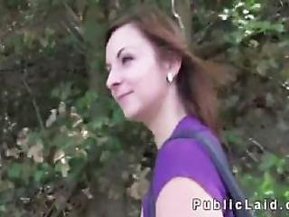 Tattooed Euro Amateur Banged In Public