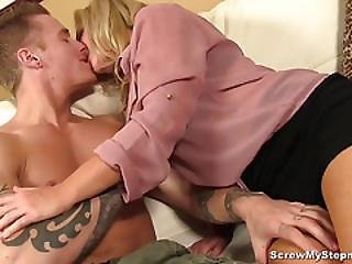 Angry Stepmom Is A Erotic