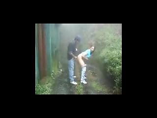 Desi Girl Got Fucked By Her Bf In Backyard