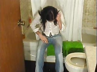 Mandy Wetting Her Jeans