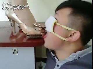 Chinese High Heel Licking