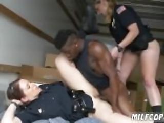 Milf and aunt threesome Black suspect taken
