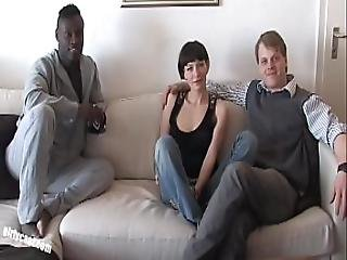 Pia Sofie S First Black Cock While Her Cuckold Is Watching