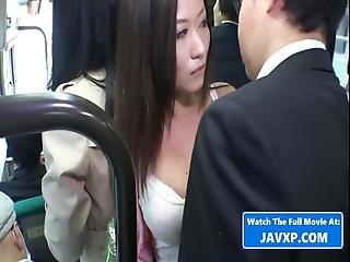 Amazing Japanese Girl On The Bus