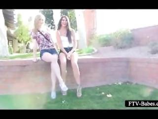 Lesbo Teens Going To Extremes And Fisting Pussy
