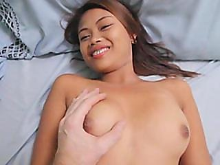 A Lucky Dude Fucks Two Delightful Asian Babes In His Hotel Room