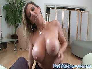 blond, blowjob, bryst, tissemand, kneppe, matur, pov, slut, bryst fuckning