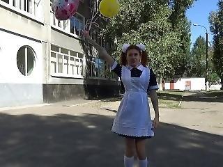 Tiny Tony Foxy Graduates School & Dances Near The Playground