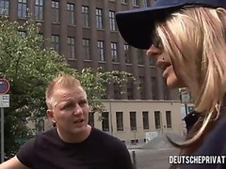 German Policewoman Fucked Doggystyle - Part1