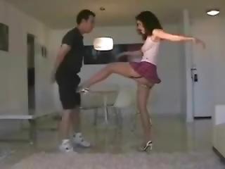 Vk Miniskirt Ballkicking