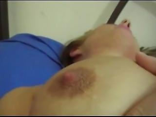 gros téton, blonde, anglaise, crème, masturbation, orgasme, star du porno, solo, jouets