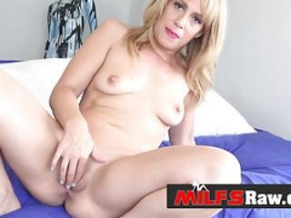 Hot Milf Stevie Gets Her Punani Drilled Hard By Horny Lovers Big Cock