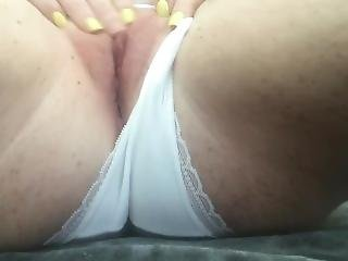 Masturbating In My White Panties Until Mind-blowing Orgasm Contractions