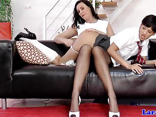 British Milf Pussylicking Lez Before Ffm Fun