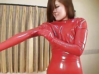 Japanese Latex Catsuit 26