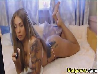 Tattooed Big Ass Latina