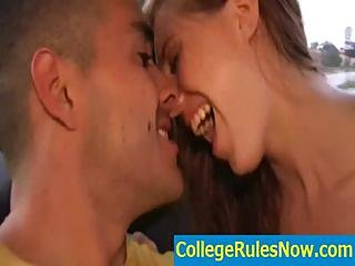 Real College Videos And Dorm Sextapes - Collegerulesnow.com - Movie-09