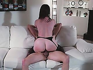 Slut With Plump Rump And Perky Boobs Gets Seduced And Banged