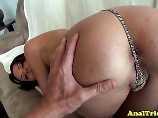 Buttfucking Amateur Gf Gets Drilled Deep By Hard Dick In Pov