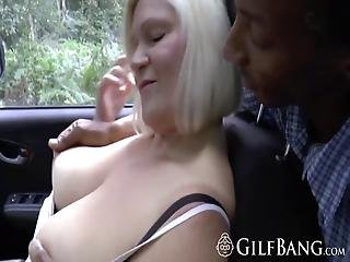 Busty Granny Is Doing A Juicy Threesome With Her Stepdaughter