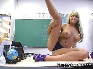 Briana Blair Live As A School Teacher