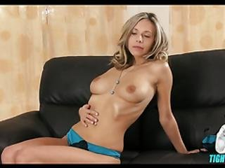 Natural Hottie Toys With Herself