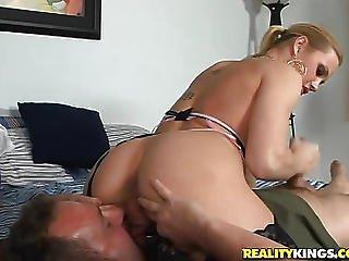 Black Stockings Milfs Riding A Cock