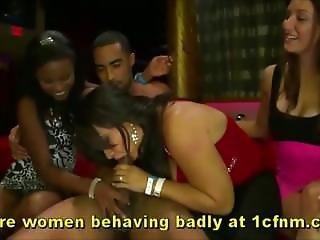 Insane Drunk Milfs Go Wild For Strippers Cocks