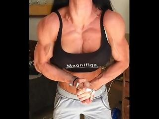 Pumped Veins Pecs
