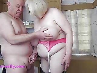 Sallys Big Tits Roughly Groped