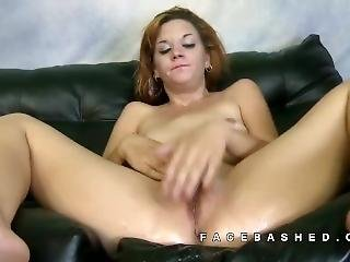 Hazel Allure Is Meat On A Couch