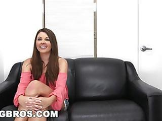 Bangbros - Cali Hayes Is Eager To Please On Backroom Facials (brf11933)