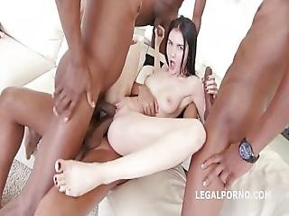 Glamour Teen Crystal Greenvelle 1st Time Bbc 5on1 Interracial Dp