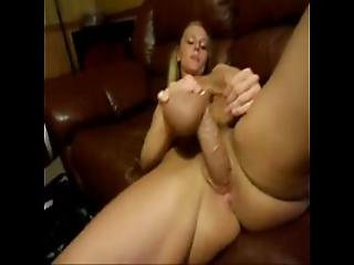 Real Amateur Using Shane Diesel Dildo
