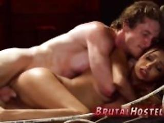 Rough pussy fisting extreme big anal toys