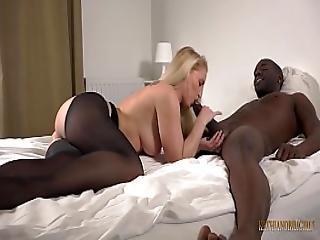 Blondie Kathia Blow Big Black Monster Cock