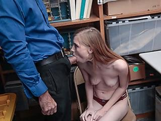 Gorgeous Shoplifter Gets Her Wet Pussy Screwed