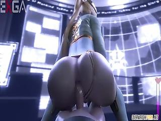Amazing And Perfect Ass Overwatch Babes Enjoy Getting Their Pussies Fucked Hard And Fast By Massive Cocks