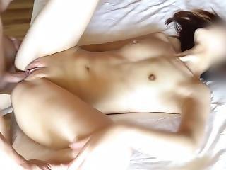 amateur, asiatique, brunette, crème, serrée, hardcore, petits seins, Ados