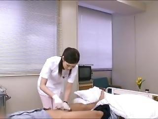 Japanese Nurse Handjob With Surgical Glove 2
