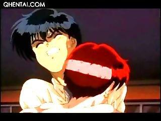 Hentai School Girl Flashing Hot Boobs To Her Horny Coed